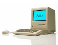 Macintosh 128 Angled