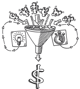 Soft data funnel